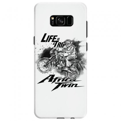 Life Is A Trip Samsung Galaxy S8 Case Designed By Kelimok