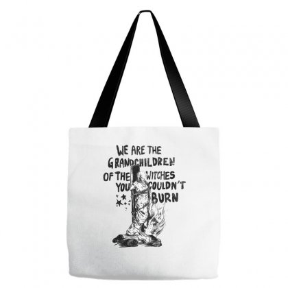We Are The Grandchildren Of The Witches Tote Bags Designed By Kelimok