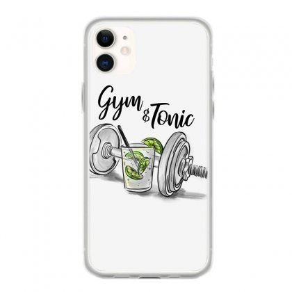 Gym And Tonic Iphone 11 Case Designed By Kelimok