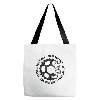 Mountain Biker Tote Bags Designed By Kelimok
