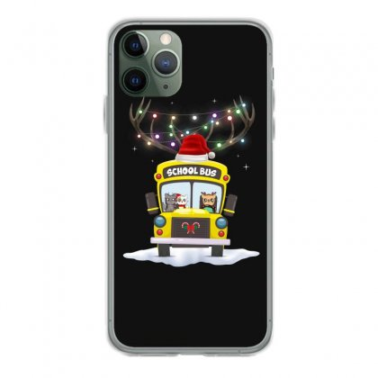 Christmas School Bus For Dark Iphone 11 Pro Case Designed By Hasret