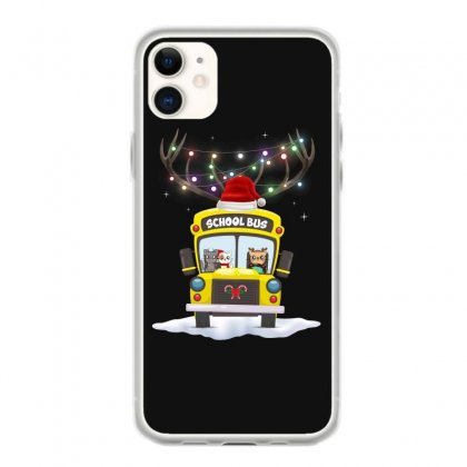 Christmas School Bus For Dark Iphone 11 Case Designed By Hasret