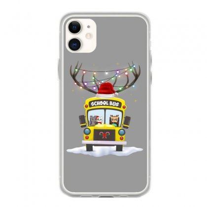 Christmas School Bus For Light Iphone 11 Case Designed By Hasret