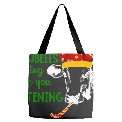 Cowbells Sign Are You Listening For Dark Tote Bags Designed By Hasret