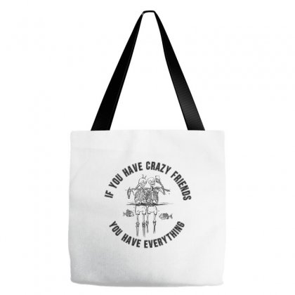 Crazy Friends Tote Bags Designed By Kelimok