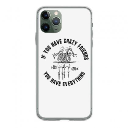 Crazy Friends Iphone 11 Pro Case Designed By Kelimok