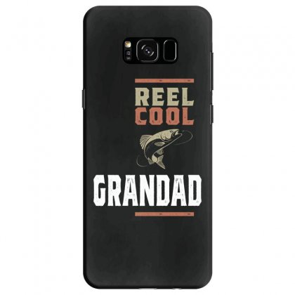 Mens Reel Cool Grandad Tee Fishing Gift Funny Samsung Galaxy S8 Case Designed By Cidolopez