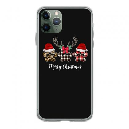 Merry Christmas Paw For Dark Iphone 11 Pro Case Designed By Hasret