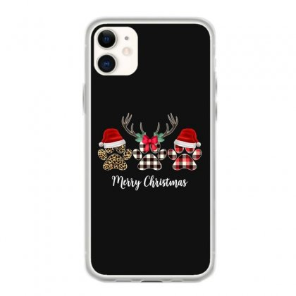 Merry Christmas Paw For Dark Iphone 11 Case Designed By Hasret