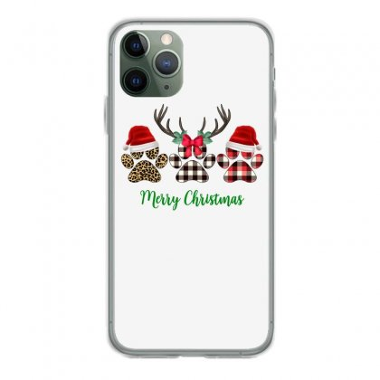 Merry Christmas Paw For Light Iphone 11 Pro Case Designed By Hasret