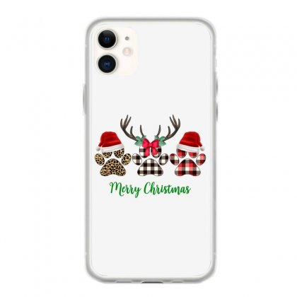Merry Christmas Paw For Light Iphone 11 Case Designed By Hasret