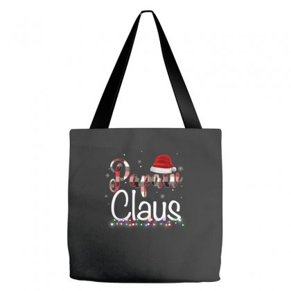 Papaw Claus Plaid Pattern For Dark Tote Bags Designed By Hasret