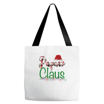 Papaw Claus Plaid Pattern For Light Tote Bags Designed By Hasret