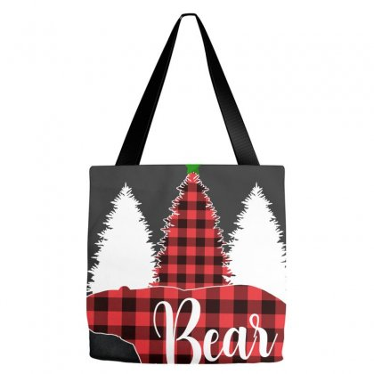 Principal Bear For Dark Tote Bags Designed By Hasret