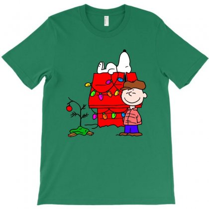 Merry Christmas, Charlie Brown T-shirt Designed By Pop Cultured