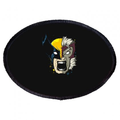 Daft Weapon X Oval Patch Designed By Fanshirt