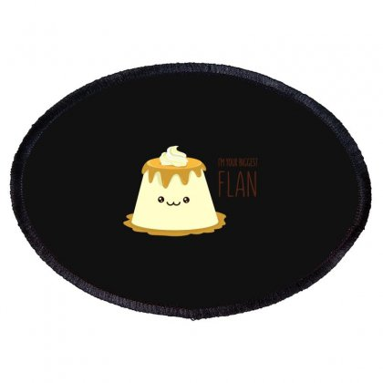 Biggest Flan Oval Patch Designed By Baron