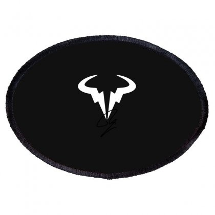 Rafael Nadal Oval Patch Designed By Blackheart