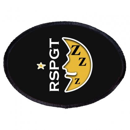 Rspgt White Oval Patch Designed By Blackheart