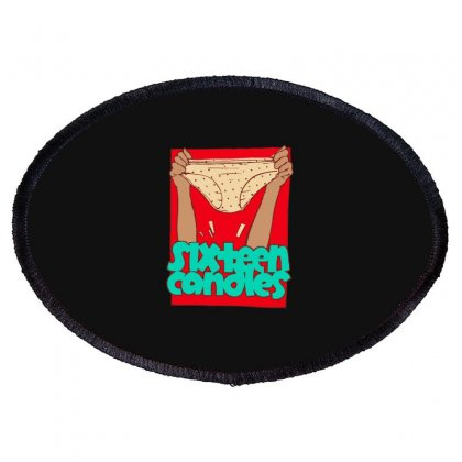 Sixteen Candles Oval Patch Designed By Blackheart