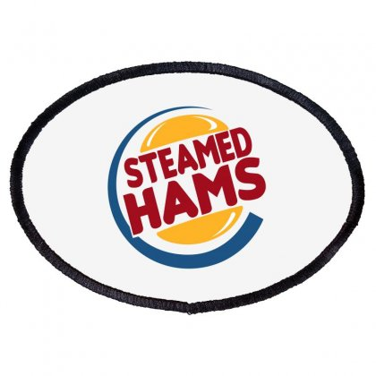 Steamed Hams Oval Patch Designed By Blackheart
