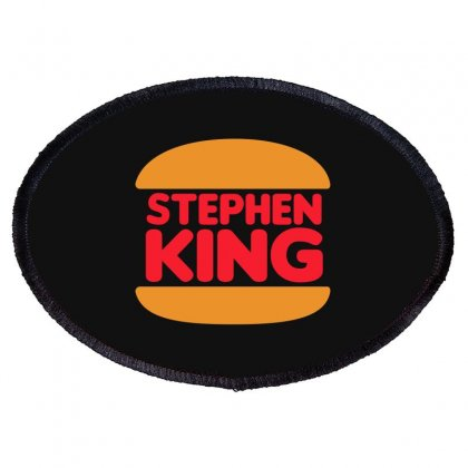 Stephen King Oval Patch Designed By Blackheart