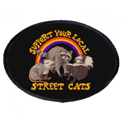 Street Cats Oval Patch Designed By Blackheart