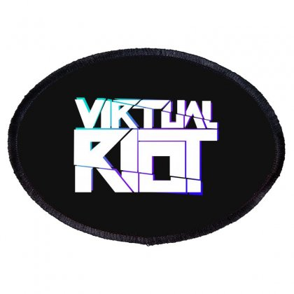 Virtual Riot Oval Patch Designed By Blackheart