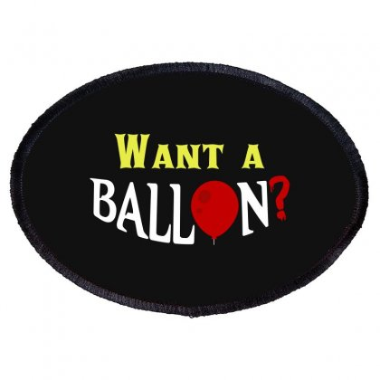 Want A Ballon Oval Patch Designed By Blackheart