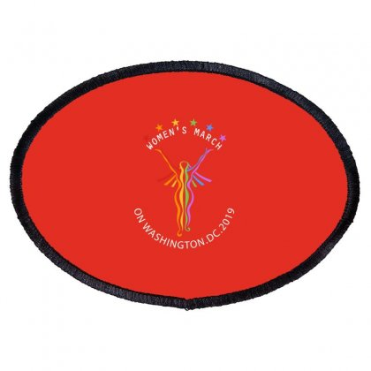 Women March 01 Oval Patch Designed By Blackheart