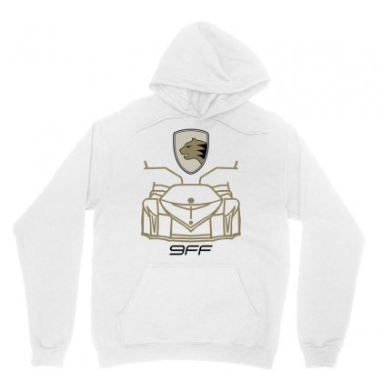 9ff Racing Logo Unisex Hoodie Designed By Bluebubble