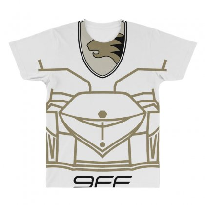 9ff Racing Logo All Over Men's T-shirt Designed By Bluebubble