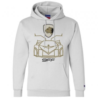 9ff Racing Logo Champion Hoodie Designed By Bluebubble