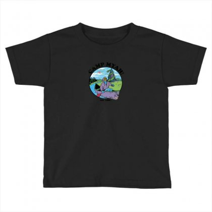 Camp Myah Toddler T-shirt Designed By Baron