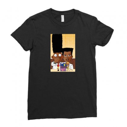 House Party Ladies Fitted T-shirt Designed By Baron