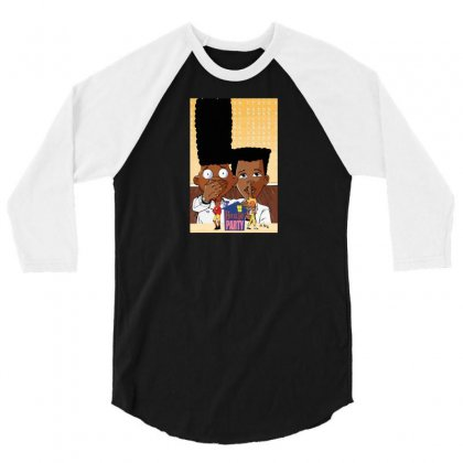 House Party 3/4 Sleeve Shirt Designed By Baron