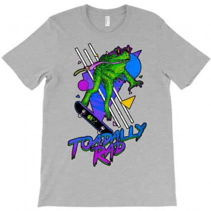 Toadally Rad T-shirt Designed By Coolstars