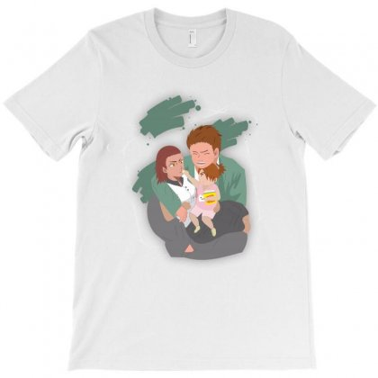 Choji & Family T-shirt Designed By Colle-q