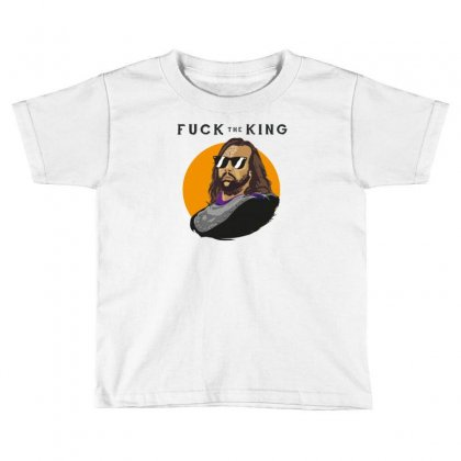 King Toddler T-shirt Designed By Baron