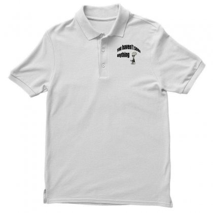 Men In Men's Polo Shirt