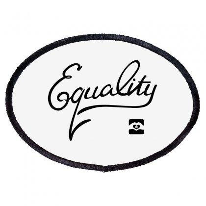 Equality Oval Patch Designed By Animestars