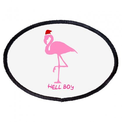 Flamingo Pink Lil Peep Oval Patch Designed By Animestars