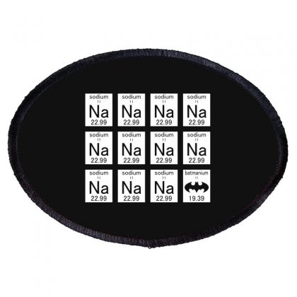 Na Na Na Na Batman Thumbnail Mockup Oval Patch Designed By Baron