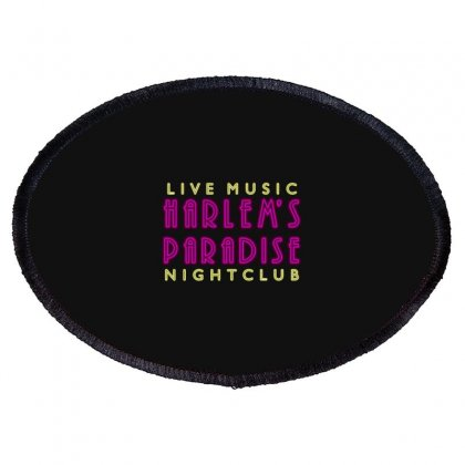 Nightclub Oval Patch Designed By Baron