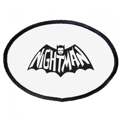 Nightman Oval Patch Designed By Baron