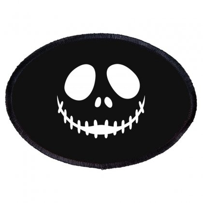 Nightmare Before Christmas Oval Patch Designed By Baron