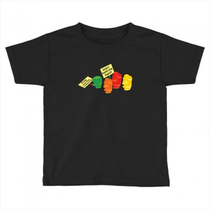 Stop Gummibear Cruelty Toddler T-shirt Designed By Baron
