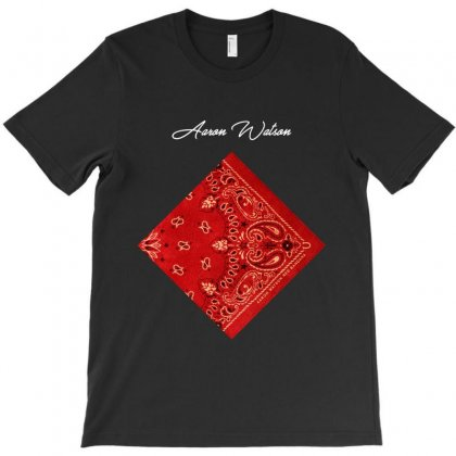 Aaron Watson Red Bandana T-shirt Designed By Nugrahadamanik