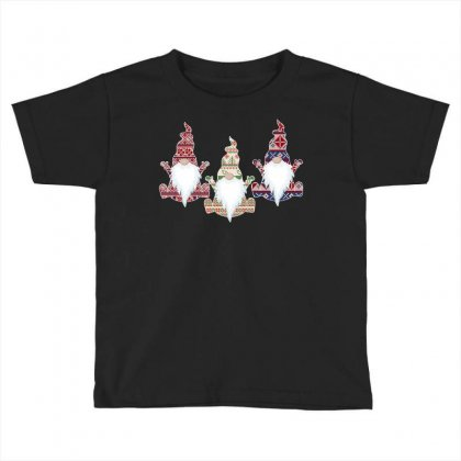 Ugly Christmas Sweater Gnome For Dark Toddler T-shirt Designed By Sengul