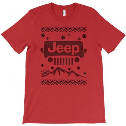 Christmas Jeep For Light T-shirt Designed By Gurkan